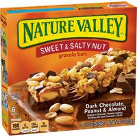 Nature Valley Granola Bars, Chewy, Sweet & Salty Nut, Dark Chocolate Peanut & Almond
