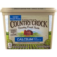 Country Crock Buttery Spread Calcium