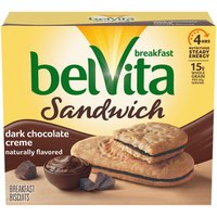 belVita Dark Chocolate Creme Breakfast Biscuits