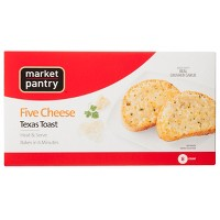 Five Cheese Frozen Texas Toast - 8pk - Market Pantry™