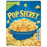 Pop Secret Double Butter Microwave Popcorn - 6ct