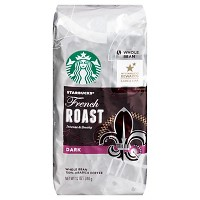 Starbucks French Roast Dark Roast Whole Bean Coffee - 12oz