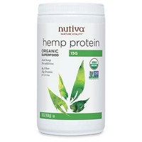 Nutiva Organic Vegan Hemp Protein Powder - 16oz
