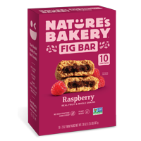 Nature's Bakery Whole Wheat Raspberry Bar 10 Count