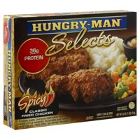Hungry-Man Selects Spicy Fried Chicken Frozen Dinner 16 oz. Box