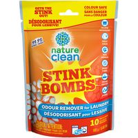 Nature Clean Stink Bombs Odor Remover Laundry Pacs