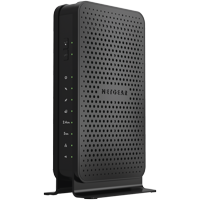 NETGEAR N600 (8x4) WiFi Cable Modem Router Combo C3700, DOCSIS 3.0 | Certified for XFINITY by Comcast, Spectrum, Cox, and more (C3700-100NAS)