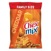 Chex Mix Snack Mix, Cheddar, 15 oz Family Size