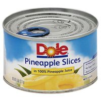 Dole Pineapple Slices in 100% Pineapple Juice