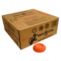 White Flyer Biodegradable Targets, Orange, 90pk