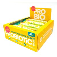 Welo Probiotic Bar - Peanut Butter Chocolate - 12ct