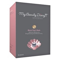 My Beauty Diary Black Pearl Mask - 10ct
