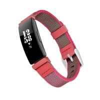 Woven Nylon Band for Fitbit® Inspire & Inspire HR™ - Pink