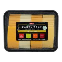 H-E-B Premium Sliced Cheese Party Tray
