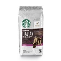Starbucks Dark Roast Ground Coffee — Italian Roast — 100% Arabica — 1 bag (12 oz.)