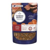 Farmers Market Foods Food for Dogs, Premium Natural, Recipe with Beef & Sweet Potato, Adult