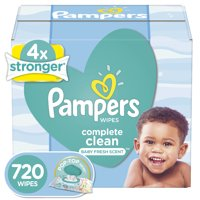 Pampers Baby Wipes Complete Clean Scented