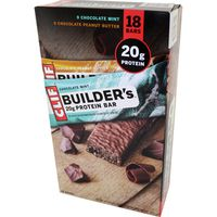 Clif Bar Builders Protein, 18 ct