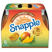 Snapple All Natural Takes 2 to Mango Tea, 16 Fl. Oz., 6 Count