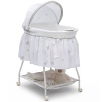 Delta Children Deluxe Sweet Beginnings Bassinet, Stardust