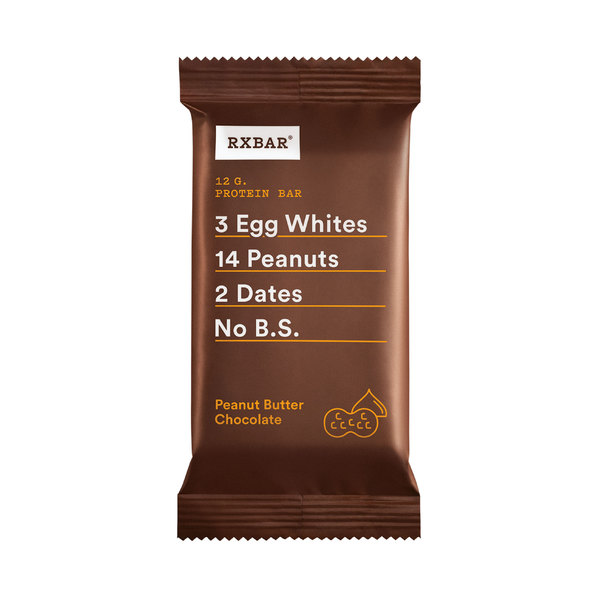 Rxbar Chocolate Peanut Butter Protein Bar, 1.83 oz
