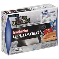 Lunchables Uploaded Turkey & Cheddar Sub Convenience Meals