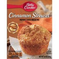 Betty Crocker Cinnamon Streusel Muffin and Quick Bread Mix
