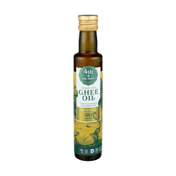 4th & heart Ghee Oil Blend Original, 8.5 fl. oz.