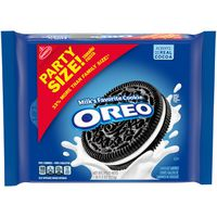 Oreo Chocolate Sandwich Cookies, Original Flavor, 1 Resealable Party Size Pack