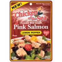 Chicken of the Sea Premium Wild-Caught Lemon Pepper Pink Salmon