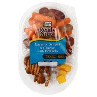 Ready Pac Carrots, Grapes and Cheese with Pretzels, 4.3 oz