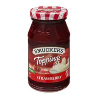 Smucker's Fat Free Strawberry Toppings