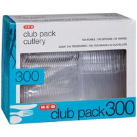 H-E-B Club Pack Cutlery Knives, Forks & Spoons