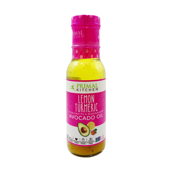 Primal kitchen Lemon Turmeric Vinaigrette & Marinade, 8 fl. oz.