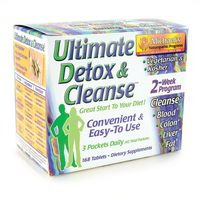 Michael's Naturopathic Programs Ultimate Detox & Cleanse Vegan Dietary Supplements