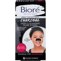 Bioré Charcoal Deep Cleansing Pore Nose Strips