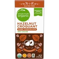 Simple Truth Organic Hazelnut Croquant Dark Chocolate
