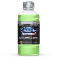 Pedialyte AdvancedCare Plus Electrolyte Drink with 33% More Electrolytes and has PreActiv Prebiotics, Kiwi Berry Mist, 1 Liter