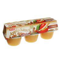 H-E-B Cinnamon Applesauce Cups
