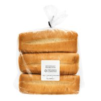 Freshness Guaranteed White Sub Rolls, 16 oz, 6 Count