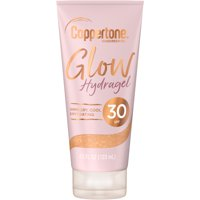 Coppertone Glow Hydragel SPF 30 Sunscreen Lotion with Shimmer, 4.5 fl. oz.