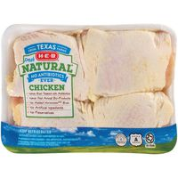 H-E-B Natural Chicken Thighs