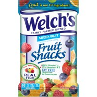 Welch's Fruit Snacks, Mixed Fruit, 4 Oz