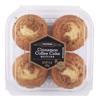 Marketside 4ct 3.5oz Cinnamon Coffee Cake Muffins