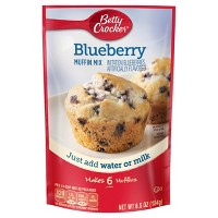 Betty Crocker Blueberry Muffin Mix - 6.5oz