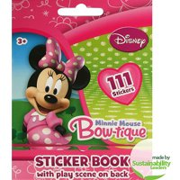 Disney Minnie Mouse Sticker Book, 111-Count