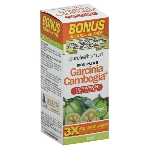 Purely Inspired Garcinia Cambogia From Kroger In Houston Tx