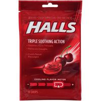Halls Cherry Cough Suppressant/Oral Anesthetic Drops