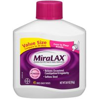 MiraLAX Laxative Powder Unflavored