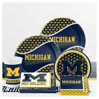 University of Michigan Party Supplies Collection
